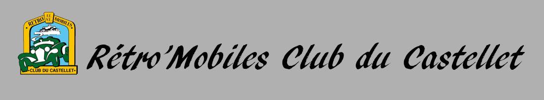 Rétro'Mobiles Club du Castellet